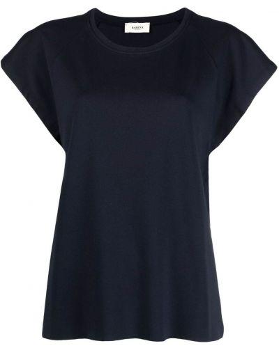Трикотажная черная футболка с вырезом Barena