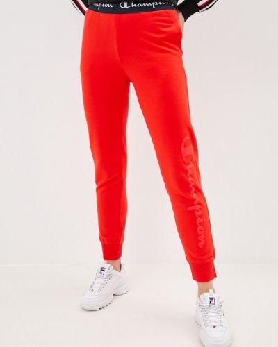 Красные спортивные брюки Champion