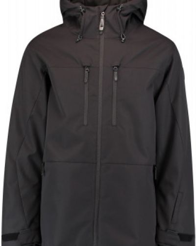 Прямая черная утепленная куртка O`neill