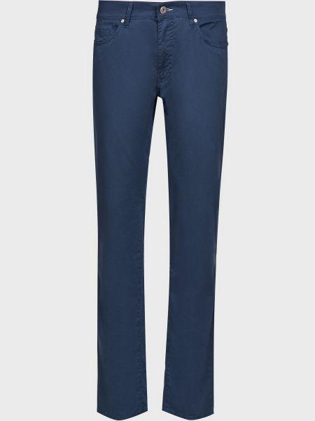 Прямые брюки - синие Brax