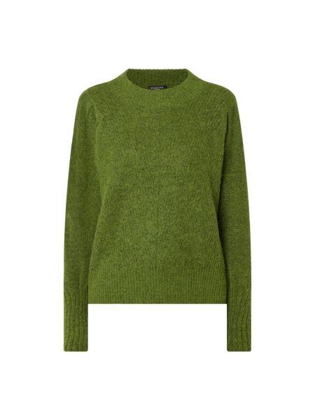 Sweter wełniany - zielony Selected Femme