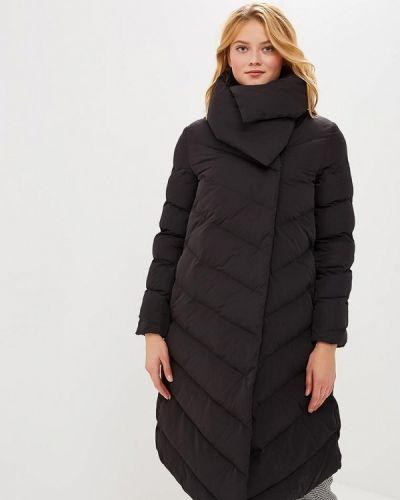 Зимняя куртка утепленная черная Odri Mio