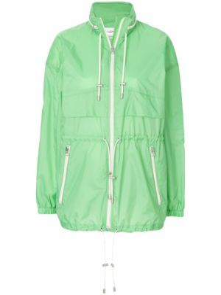 Płaszcz przeciwdeszczowy - zielony Isabel Marant Etoile