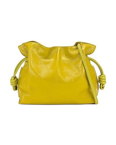 Złota kopertówka - żółta Loewe