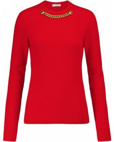 Z kaszmiru sweter Givenchy
