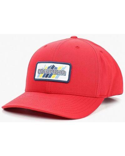 Красная бейсболка Columbia