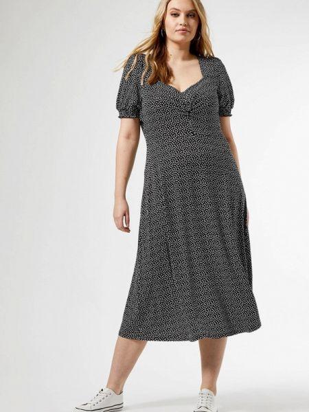 Повседневное платье серое весеннее Dorothy Perkins Curve