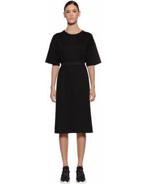 Платье с поясом с вырезом Moncler