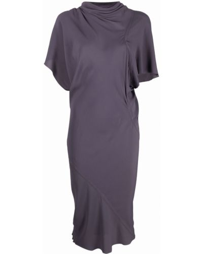 Sukienka midi - fioletowa Rick Owens