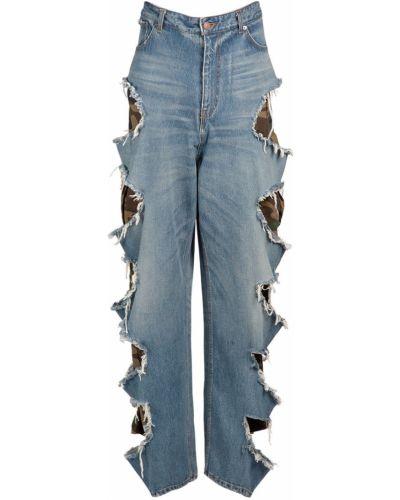 Мешковатые джинсы - синие Balenciaga