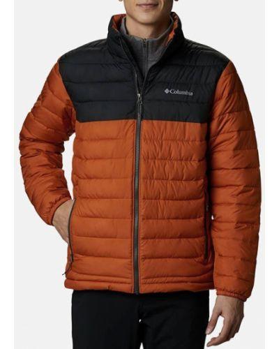 Коричневая куртка Columbia