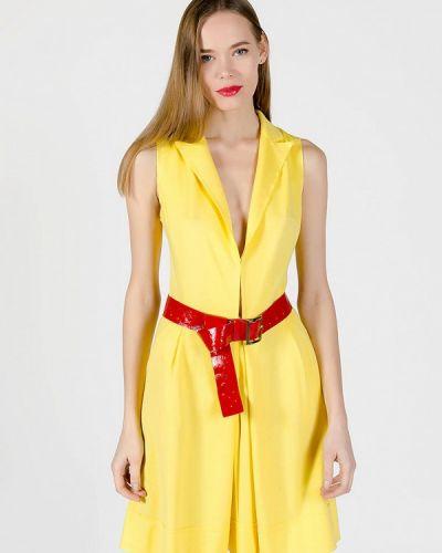 Комбинезон с шортами - желтый Kriza