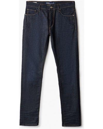 Синие зауженные джинсы-скинни Rifle