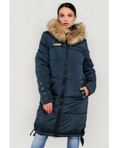 Утепленная куртка - синяя Modniy Oazis