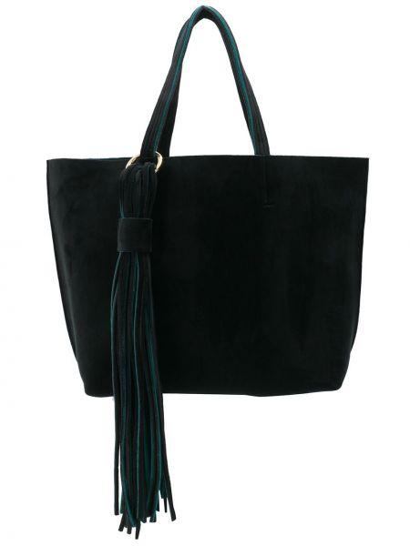 Черная сумка-тоут Alila