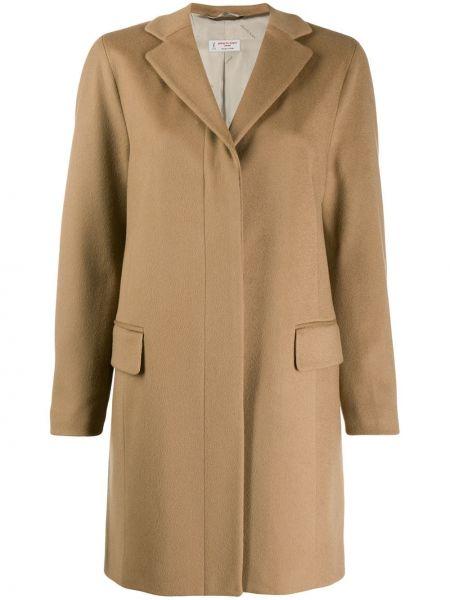 Длинное пальто с капюшоном Alberto Biani