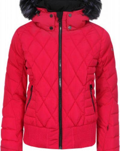 Утепленная куртка с капюшоном горнолыжная Luhta