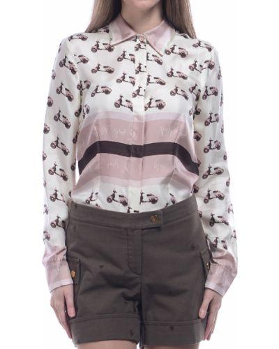 Блузка шелковая Via Delle Perle