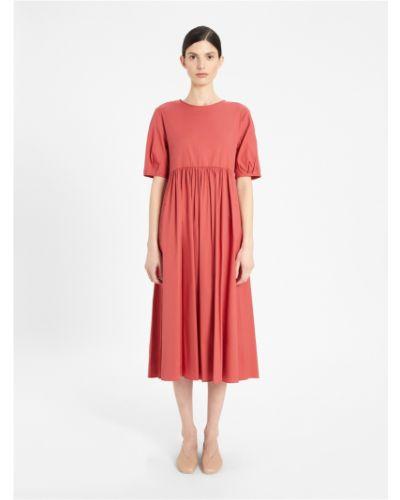 Розовое платье Maxmara