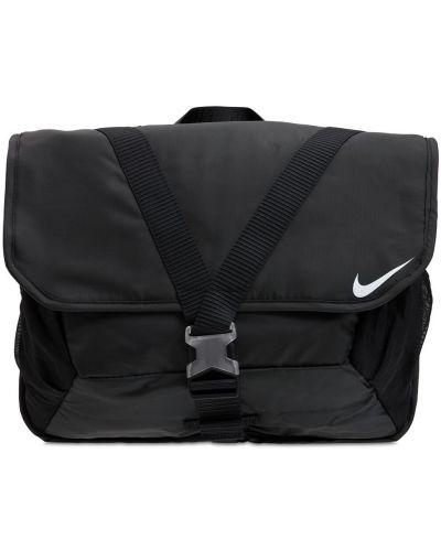 Черная сумка мессенджер Nike