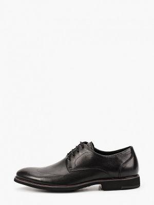 Черные кожаные туфли Dino Ricci