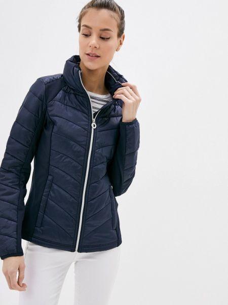 Теплая синяя утепленная куртка Luhta