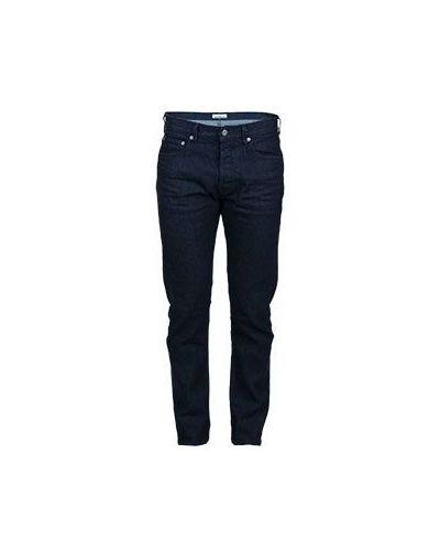 Синие джинсы стрейч Stone Island