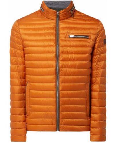 Pomarańczowa kurtka pikowana ze stójką Milestone