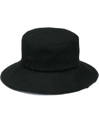 Czarny kapelusz bawełniany Ader Error
