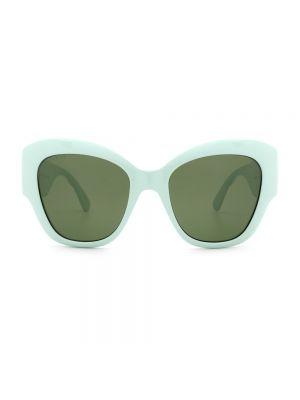 Okulary - zielone Gucci