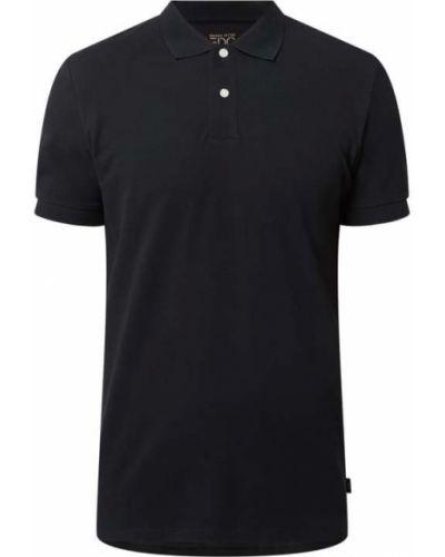 Czarna koszulka bawełniana Edc By Esprit