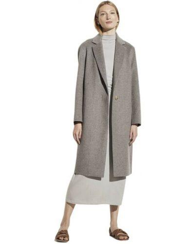 Szary klasyczny płaszcz Vince