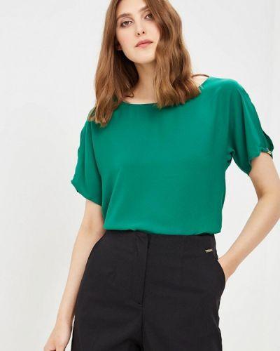 Блузка с коротким рукавом зеленый весенний Top Secret