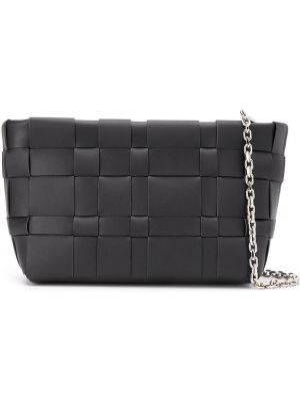 Skórzana torebka na łańcuszku czarna 3.1 Phillip Lim