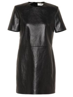 Платье мини классическое - черное Saint Laurent