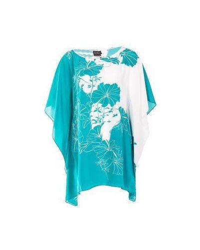 Голубая блузка Luisa Spagnoli