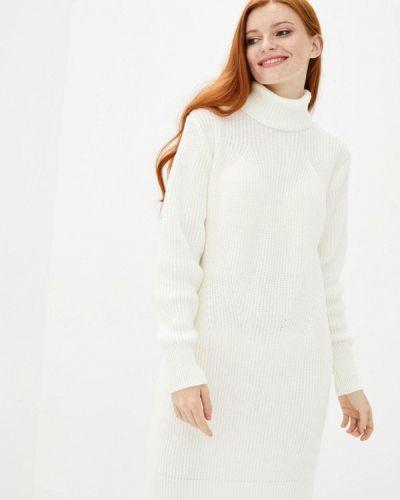 Белое вязаное платье Sewel