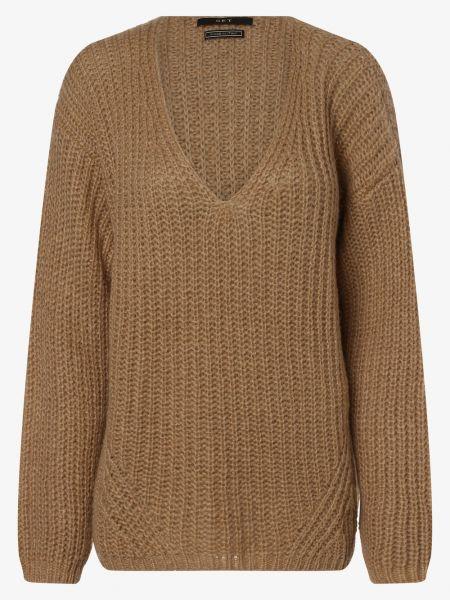 Sweter wełniany - beżowy Set