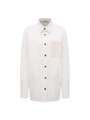 Хлопковая блузка - белая Magda Butrym