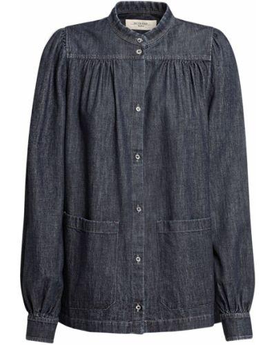 Koszula jeansowa - niebieska Weekend Max Mara