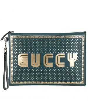 Torba sprzęgło skórzany prostokątny Gucci Pre-owned