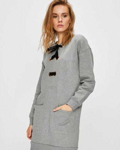 Джинсовое платье мини с карманами Trussardi Jeans