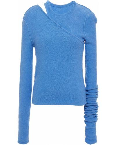 Sweter bawełniany - niebieski Rick Owens