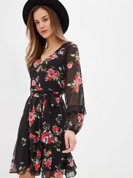 Повседневное платье черное весеннее Wallis