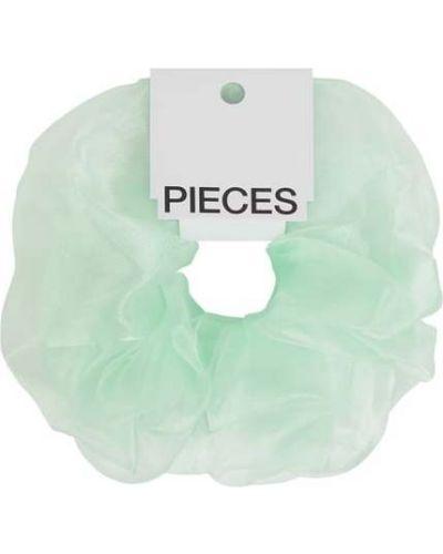 Różowa gumka do włosów Pieces