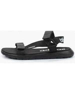 Сандалии черные Adidas