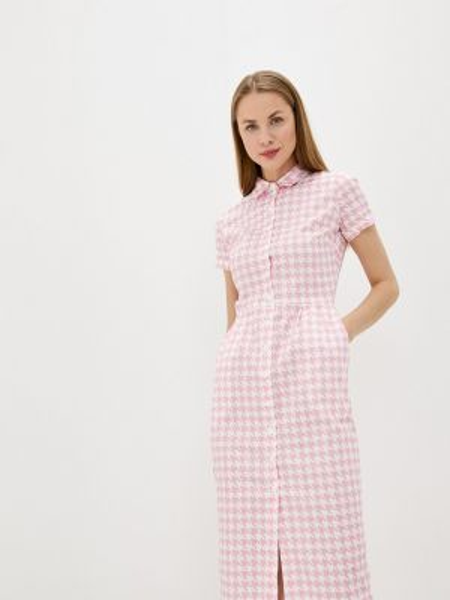 Розовое платье Solou