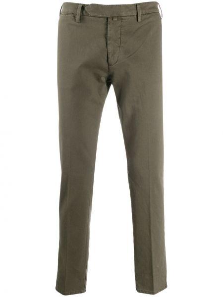 Прямые брюки с поясом новогодние Borrelli
