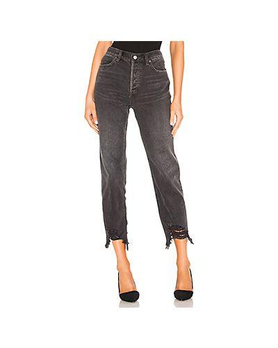 Прямые джинсы на пуговицах Free People