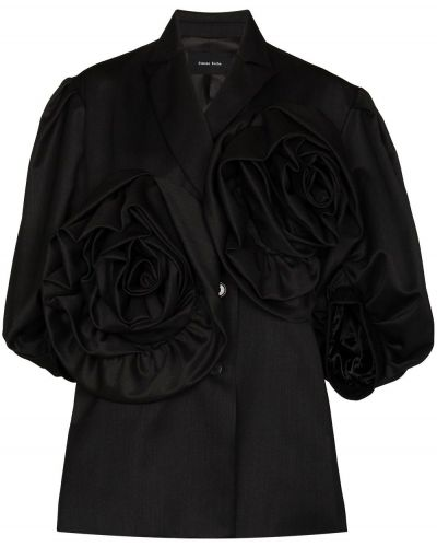 Черная куртка короткая Simone Rocha